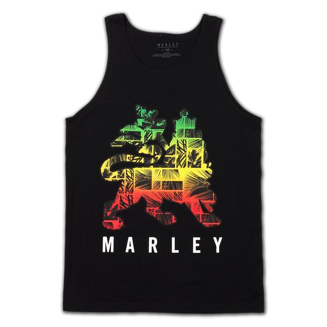 Bob Marley RASTA LION TANK TOP