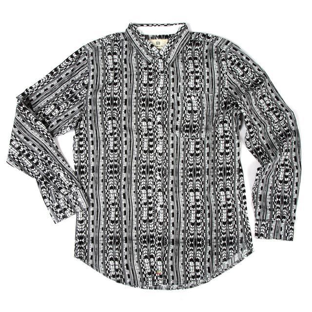 Bob Marley Ikat Button Shirt