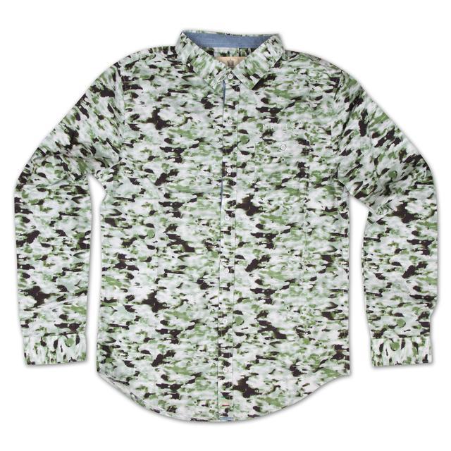 Bob Marley Camo Button Shirt