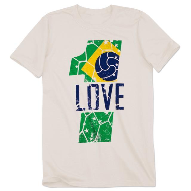 Bob Marley Brazil 1 Love T-Shirt