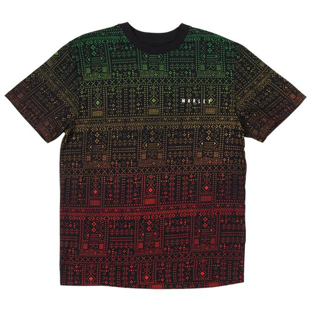 Bob Marley Digitized Aztec T-Shirt