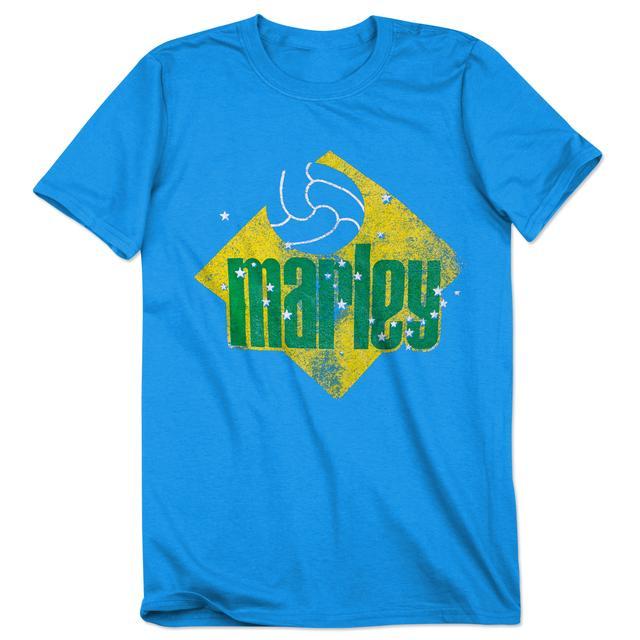 Bob Marley Brazil Futball T-Shirt