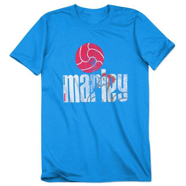 Bob Marley France Futball T-Shirt