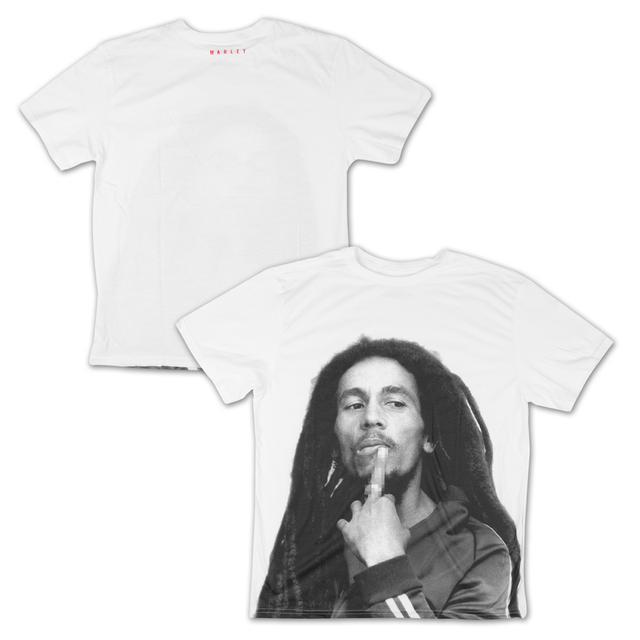 Bob Marley Mosaic Finger T-Shirt