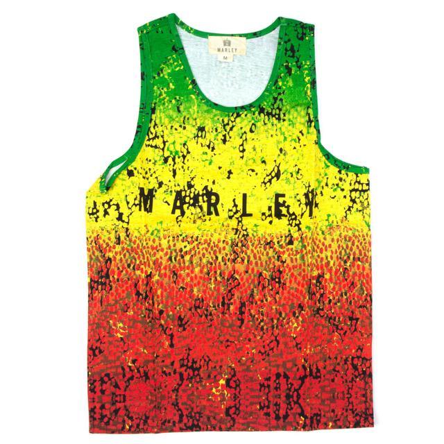 Bob Marley Rasta Speckle Tank Top