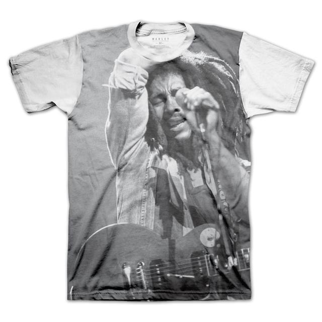 Bob Marley Candid Portrait T-Shirt