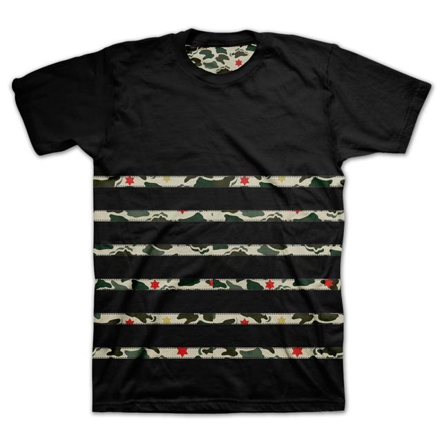 Bob Marley Bubble Camo Print T-Shirt