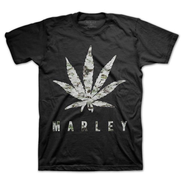 Bob Marley Reverse Leaf T-Shirt
