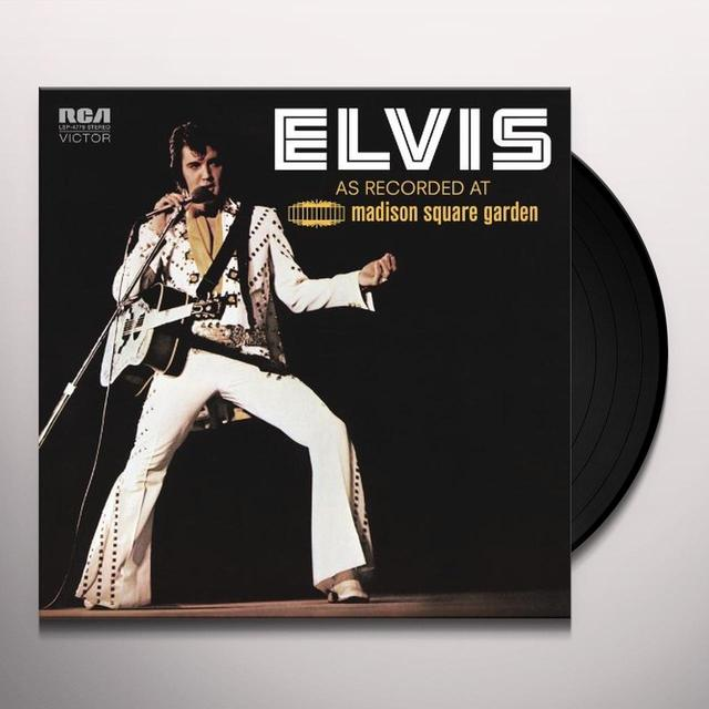 ELVIS: AS RECORDED AT MADISON SQUARE GARDEN Vinyl Record