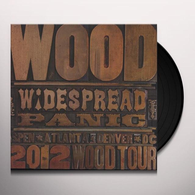 Widespread Panic WOOD Vinyl Record