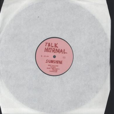 Talk Normal SUNSHINE Vinyl Record