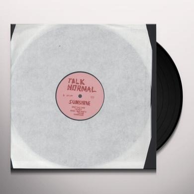 Talk Normal SUNSHINE Vinyl Record