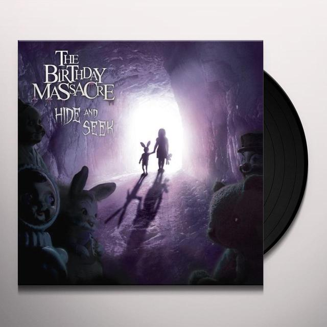 The Birthday Massacre HIDE & SEEK Vinyl Record - Limited Edition