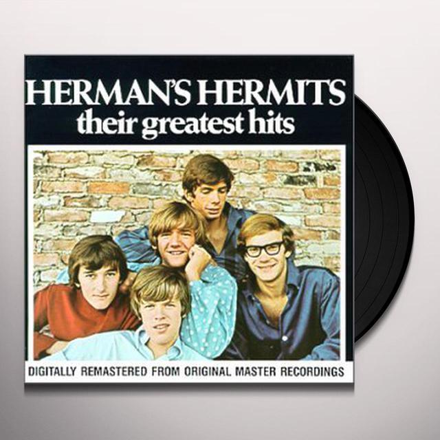 Herman'S Hermits GREATEST HITS Vinyl Record