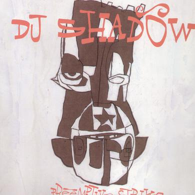 Dj Shadow PREEMPTIVE STRIKE Vinyl Record