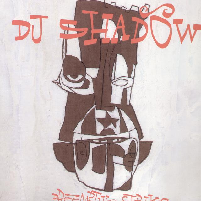 Dj Shadow PREEMPTIVE STRIKE Vinyl Record