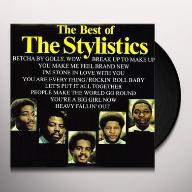 The Stylistics BEST OF Vinyl Record