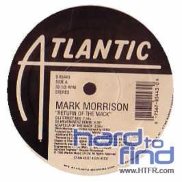 Mark Morrison RETURN OF THE MACK (X3) / TRIPPIN Vinyl Record