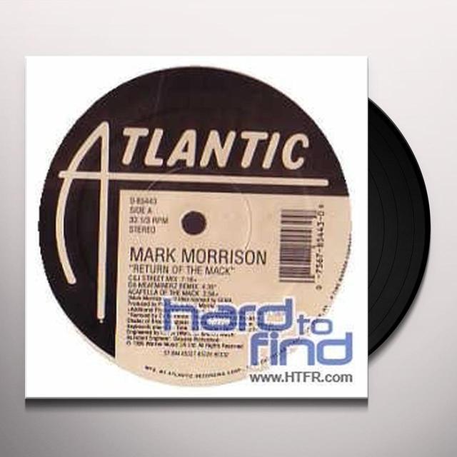 Mark Morrison RETURN OF THE MACK (X3) / TRIPPIN Vinyl Record