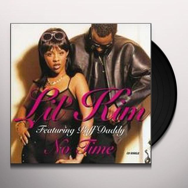 Lil Kim NO TIME (X4) Vinyl Record