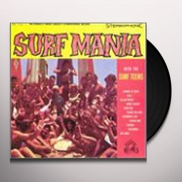 Surf Teens SURF MANIA Vinyl Record