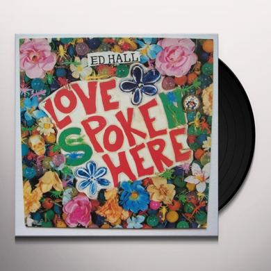 Ed Hall LOVE POKE HERE Vinyl Record