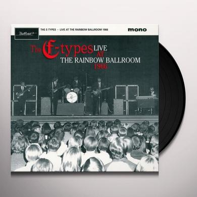E-Types LIVE AT THE RAINBOW 1966 Vinyl Record