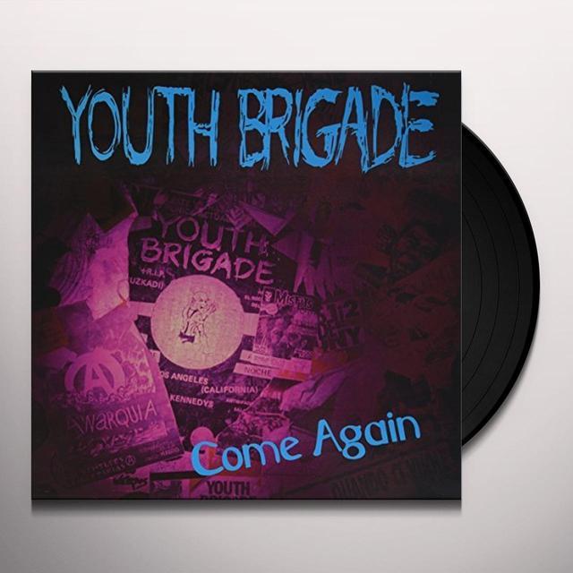 Youth Brigade COME AGAIN Vinyl Record
