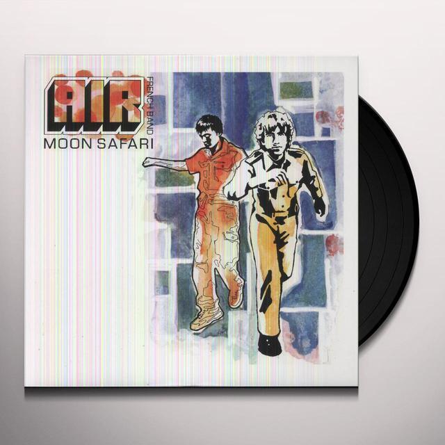 Air MOON SAFARI Vinyl Record - Reissue