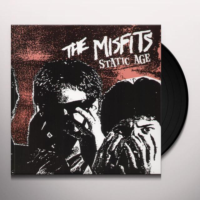 The Misfits STATIC AGE Vinyl Record