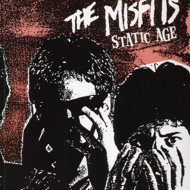 The Misfits STATIC AGE Vinyl Record