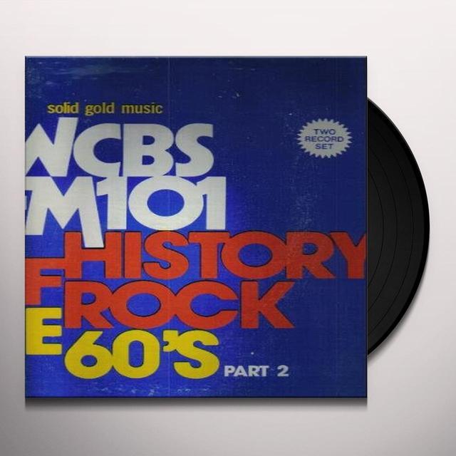 HISTORY OF ROCK 60'S 2 / VARIOUS Vinyl Record