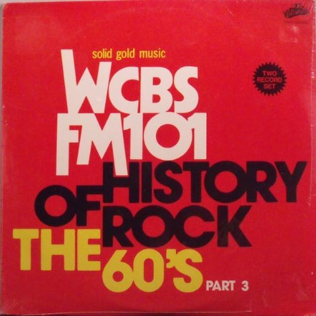 HISTORY OF ROCK 60'S 3 / VARIOUS Vinyl Record