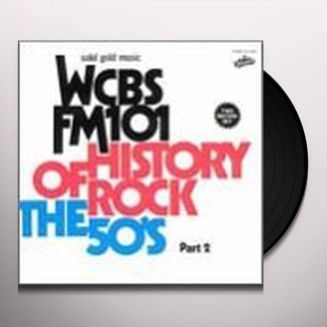 Wcbs Fm101 ROCK HISTORY 50s Vinyl Record