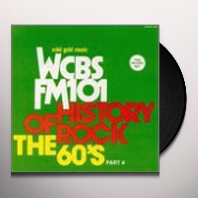 HISTORY OF ROCK 60'S 4 / VARIOUS Vinyl Record