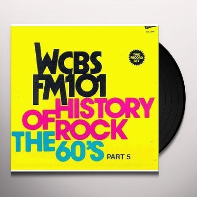 HISTORY OF ROCK 60'S 6 / VARIOUS Vinyl Record