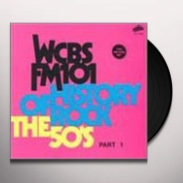 HISTORY OF ROCK: 50'S 1 / VARIOUS Vinyl Record