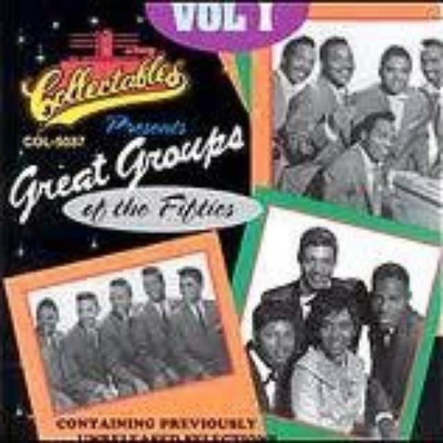GREAT GROUPS OF THE 50'S 1 / VARIOUS Vinyl Record