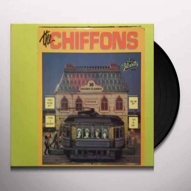 Chiffons GOLDEN CLASSICS Vinyl Record