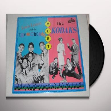 Lewis Lymon MEET THE KODAKS Vinyl Record