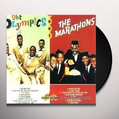 Marathons & Olympics MARATHONS MEET OLYMPICS Vinyl Record