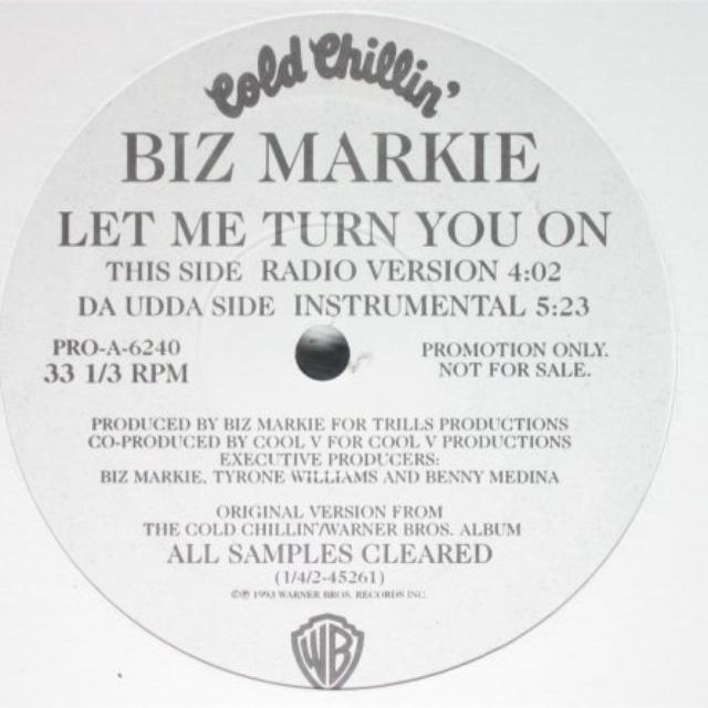 Biz Markie LET ME TURN YOU ON Vinyl Record