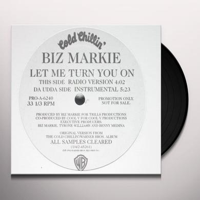 Biz Markie LET ME TURN YOU ON Vinyl Record