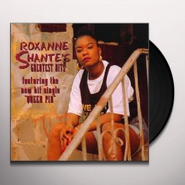 Roxanne Shante GREATEST HITS Vinyl Record