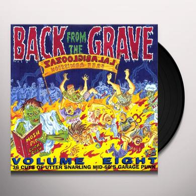 BACK FROM THE GRAVE 8 / VARIOUS Vinyl Record