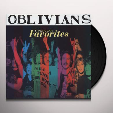 Oblivians POPULAR FAVORITES Vinyl Record