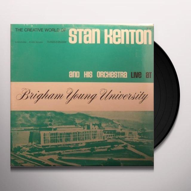 Stan Kenton LIVE AT BRIGHAM YOUNG UNIVERSITY Vinyl Record