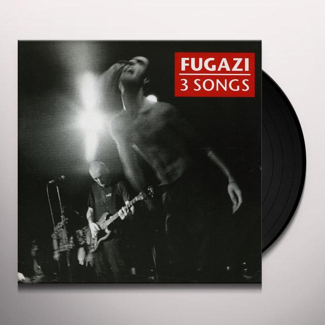 Fugazi 3 SONGS Vinyl Record