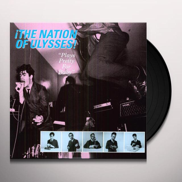 Nation Of Ulysses PLAYS PRETTY FOR BABY Vinyl Record
