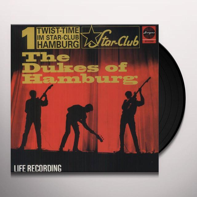 Dukes Of Hamburg TWIST TIME: IMSTAR CLUB HAMBURG Vinyl Record